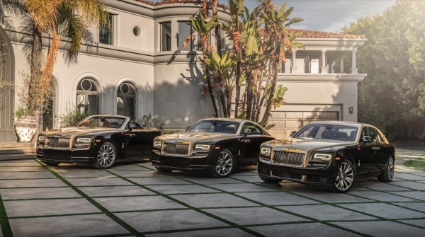 Rollsroyce And Mclaren Beverly Hills Fourth Annual Lunar New Year Year Of The Pig Celebration