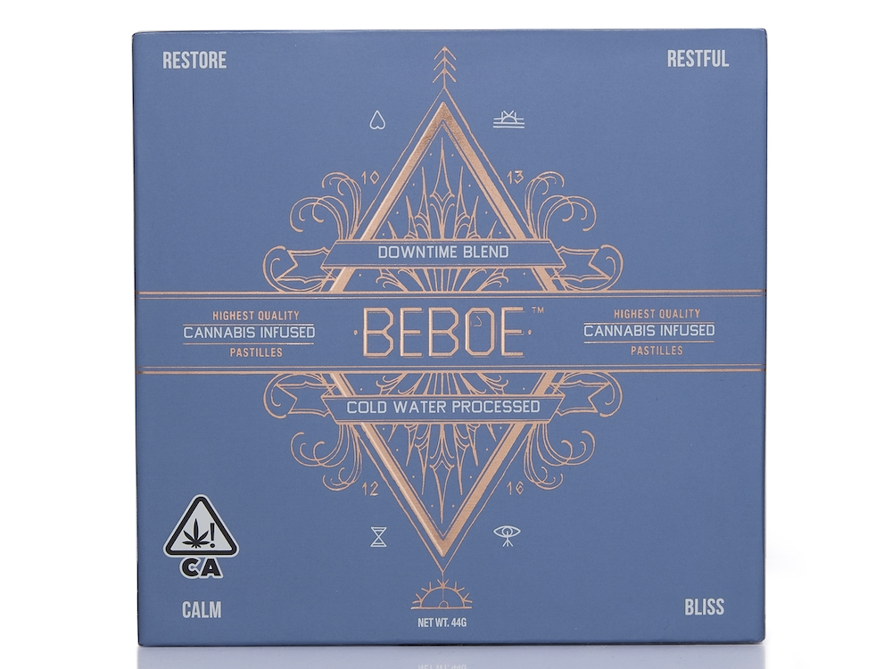 Beboe Launches New Downtime Indica Blend Pastilles